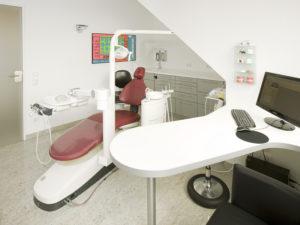 Behandlungszimmer in Ratingen